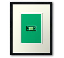 GAMEBOY MICRO Framed Print