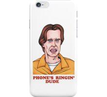 Phone's Ringin' Dude (Color) iPhone Case/Skin