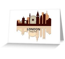 London England Greeting Card
