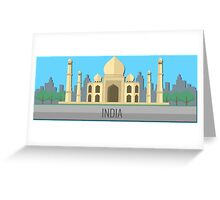 India Greeting Card
