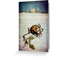 It Came From The Sea  Greeting Card