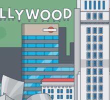 Hollywood Sticker