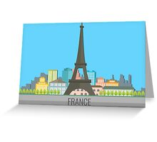France Greeting Card