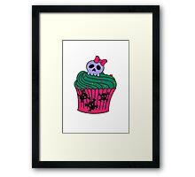 cutie pie cupcake Framed Print