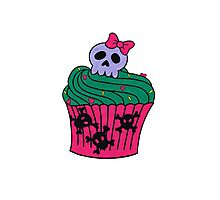 cutie pie cupcake Photographic Print