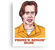 Phone's Ringin' Dude (Color) Canvas Print