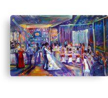 Peter and Tash Wedding Artscape Canvas Print