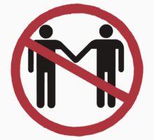 Anti-gay marriage (black) by natefiala