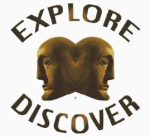 Explore And Discover by Vy Solomatenko