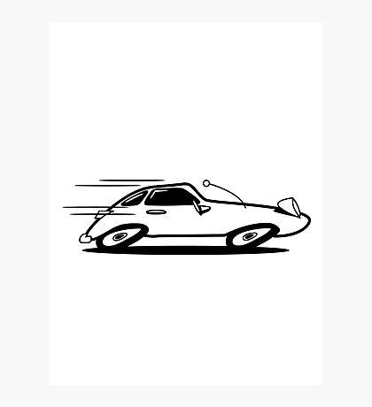 Sports car car car car fast Photographic Print