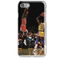 Magic & Jordan iPhone Case/Skin