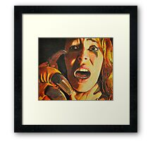 Who Could Love a Beast? Framed Print