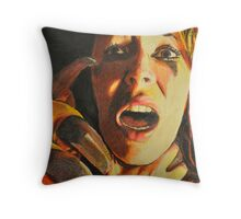 Who Could Love a Beast? Throw Pillow