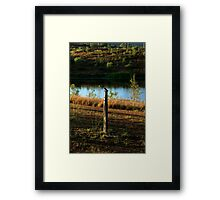 The First Song At Sunrise Framed Print