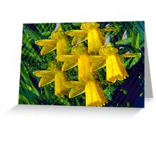 Kaleidoscopic Garden 5 Greeting Card