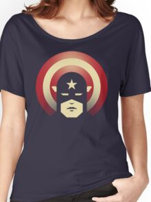 PATRIOTIC DEFENDER Women's Relaxed Fit T-Shirt