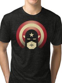 PATRIOTIC DEFENDER Tri-blend T-Shirt