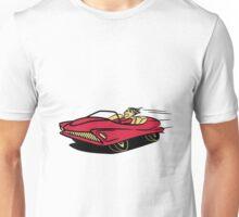 Car fast race car Fahrzeugl Unisex T-Shirt