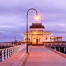 St. Kilda Pier, Melbourne, Victoria, Australia by Michael Boniwell