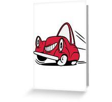 Car car car funny funny Greeting Card