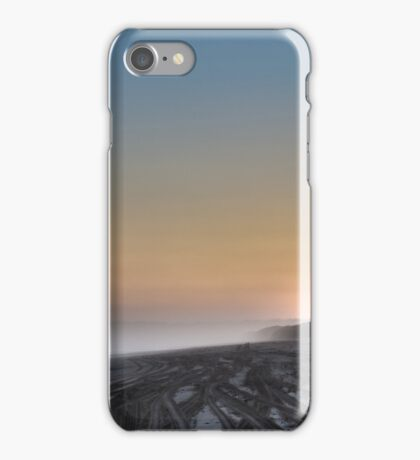 Old Bar Tyre Tracks iPhone Case/Skin