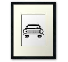 Auto car vehicle Framed Print