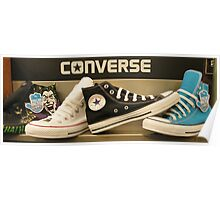 High top Converse Poster