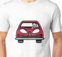 Car carriage evil driver Fahrzeugl Unisex T-Shirt