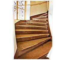 Tumbling Stairs Poster