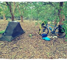 Bike Camping by Tom Kelly