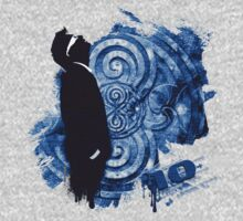 Tenth Banksy 2014 - Tardis Blue by ifourdezign