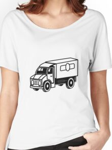 Car toys truck truck truck vehicle Women's Relaxed Fit T-Shirt