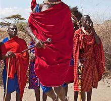 Masai Jumping Dance by phil decocco