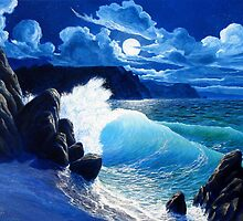 Nocturnal Shore by Cary McAulay