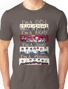 EXO, BTS, INFINITE, AND MONSTA X - I'M A FAN T-Shirt