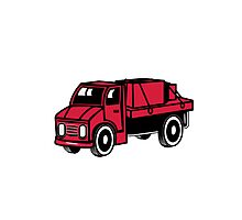 Car toys truck boxes truck truck vehicle Photographic Print