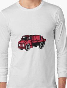 Car toys truck boxes truck truck vehicle Long Sleeve T-Shirt