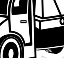 Car toys truck boxes truck truck vehicle Sticker