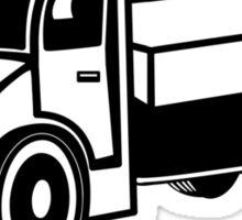 Car toys truck truck truck truck vehicle Sticker