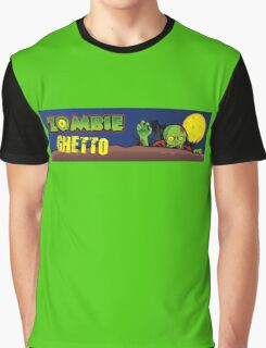 ZOMBIE GHETTO OFFICIAL ARTWORK DESIGN T-SHIRT Graphic T-Shirt