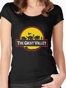 The Great Valley Women's Fitted Scoop T-Shirt