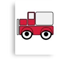 Car toys baby car truck vehicle funny Canvas Print