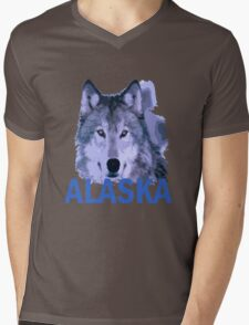 Alaska Mens V-Neck T-Shirt