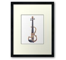 An Electric Violin Framed Print