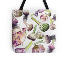 A Grouping of Garlic Tote Bag