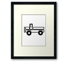 Car toys baby truck tipper Framed Print