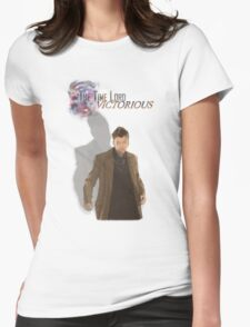 The Timelord Victorious  Womens Fitted T-Shirt