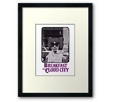 Breakfast at Cloud City Framed Print