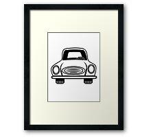 Car grill car vehicle Framed Print