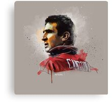 Eric Cantona Painting Canvas Print